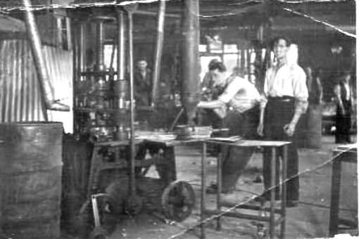 Glass Pressing shop